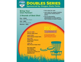 Doubles Series Event #4 presented by Oregon State Parks