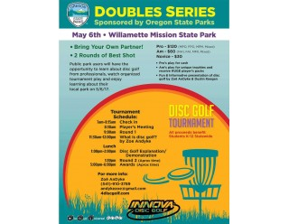 Doubles Series Event #3 presented by Oregon State Parks